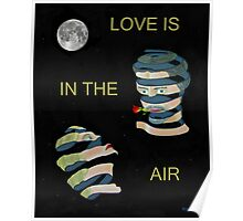 Love is in the air two heads Poster