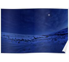 Winter's night in Swaledale Poster