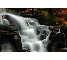 Waterfall in Virginia Water Park Photographic Print
