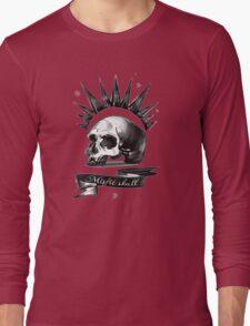 misfit skull Long Sleeve T-Shirt