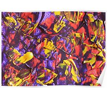 Colorful Original Artwork  Poster