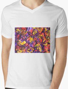Colorful Original Artwork  Mens V-Neck T-Shirt