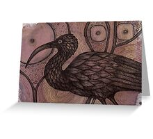 The Ibis Greeting Card