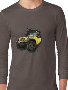 Jeep Truck Offroad Cars 3D Long Sleeve T-Shirt