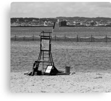 The Lonely Beach Canvas Print
