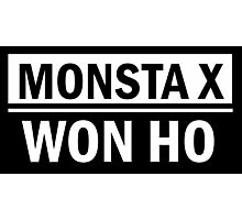 MONSTA X WON HO Photographic Print