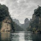 Baofeng Lake 张家界 by Nicolas Noyes
