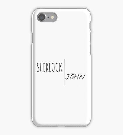 SHERLOCK | JOHN iPhone Case/Skin