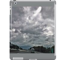 Driving Into The Storm iPad Case/Skin