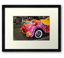 Flat Car  Framed Print