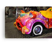Flat Car  Canvas Print