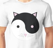 Kitty Yin Yang Unisex T-Shirt