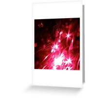 Light Show Greeting Card