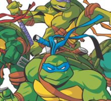 Teenage Mutant Ninja Turtles Inspired Animation Cartoon  Sticker