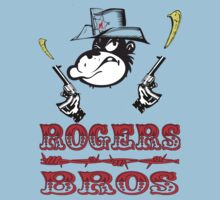 wild west tshirt rogers bros construction co by ukrugby