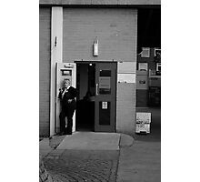 The Shouting Woman - Owens Park, Manchester Photographic Print