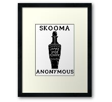 Skooma Anonymous Framed Print
