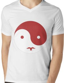 Star Wars Yin Yang Scar of Rememberance Mens V-Neck T-Shirt