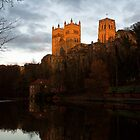 Durham Cathedral at Sunset by Paul Berry