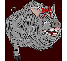Cutie maneater boar from Bloodborne Photographic Print