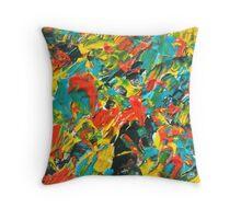 Vivid Fall Colors  Throw Pillow