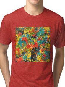Vivid Fall Colors  Tri-blend T-Shirt
