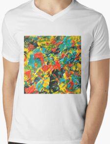 Vivid Fall Colors  Mens V-Neck T-Shirt
