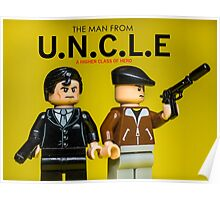 The Man from U.N.C.L.E - Lego Parody Poster
