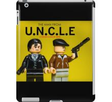 The Man from U.N.C.L.E - Lego Parody iPad Case/Skin