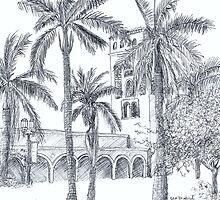 Royal Palm Plaza by W. H. Dietrich