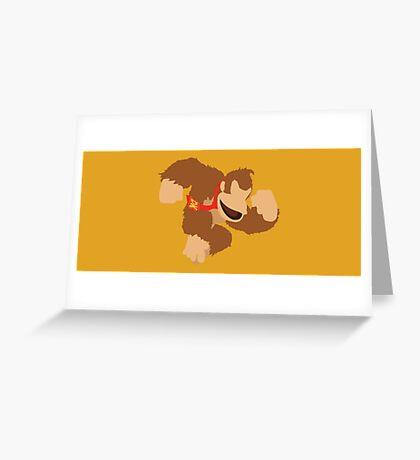 Donkey Kong - Super Smash Bros. Greeting Card