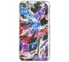 Colorful Mixed Media Art  iPhone Case/Skin