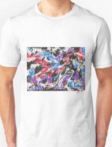 Colorful Mixed Media Art  T-Shirt