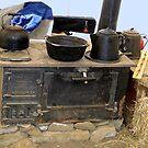 Chow Tent by Al Bourassa