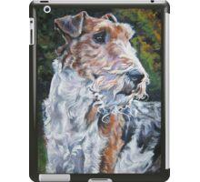 Wire Fox Terrier iPad Case/Skin