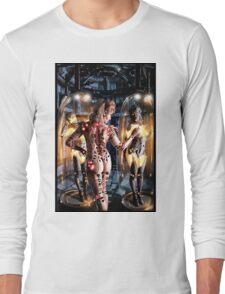 Cyberpunk Painting 066 Long Sleeve T-Shirt