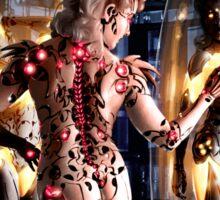 Cyberpunk Painting 066 Sticker