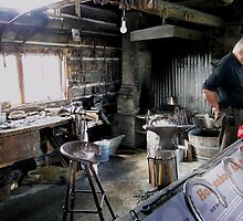 The Blacksmith's Shop by Al Bourassa