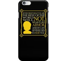 Tyrion's Quote iPhone Case/Skin