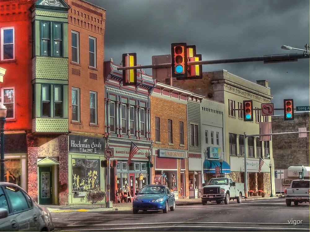 Downtown Dubois by vigor