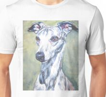 Whippet Fine Art Painting Unisex T-Shirt