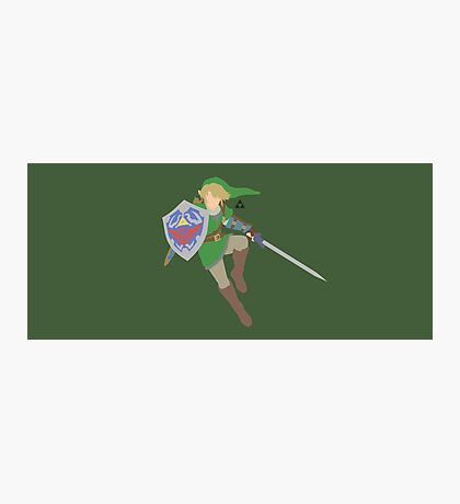 Link - Super Smash Bros. Photographic Print