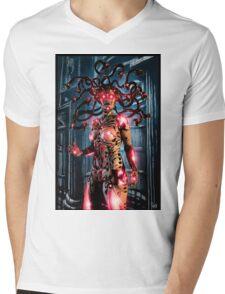 Cyberpunk Painting 067 Mens V-Neck T-Shirt