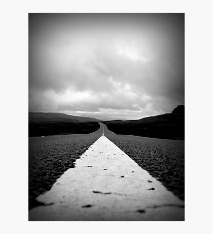 The Low Road Photographic Print