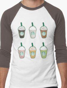 Frappuccinos  Men's Baseball ¾ T-Shirt