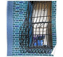 Urban Window Poster