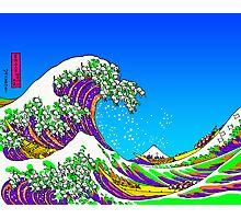 The Great Acid Wave Off Katagawa Photographic Print