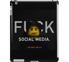 Mr Robot Promo - Lego Parody iPad Case/Skin
