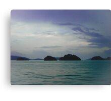 Islands off Koh Samui Canvas Print