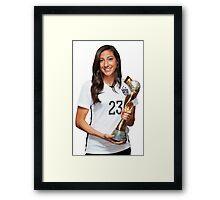 Christen Press - World Cup Framed Print